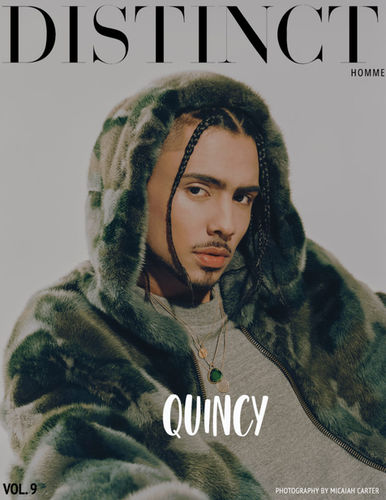 MICAIAH CARTER c/o GIANT ARTISTS : QUINCY for DISTINCT HOMME