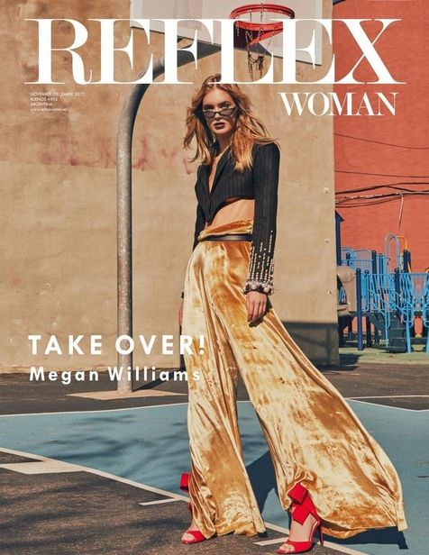 Megan Williams for Reflex Woman shot by Cesar Balcazar
