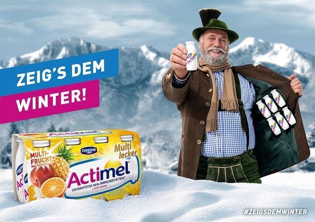 SOLAR UND FOTOGRAFEN : Walter GLÖCKLE for ACTIMEL