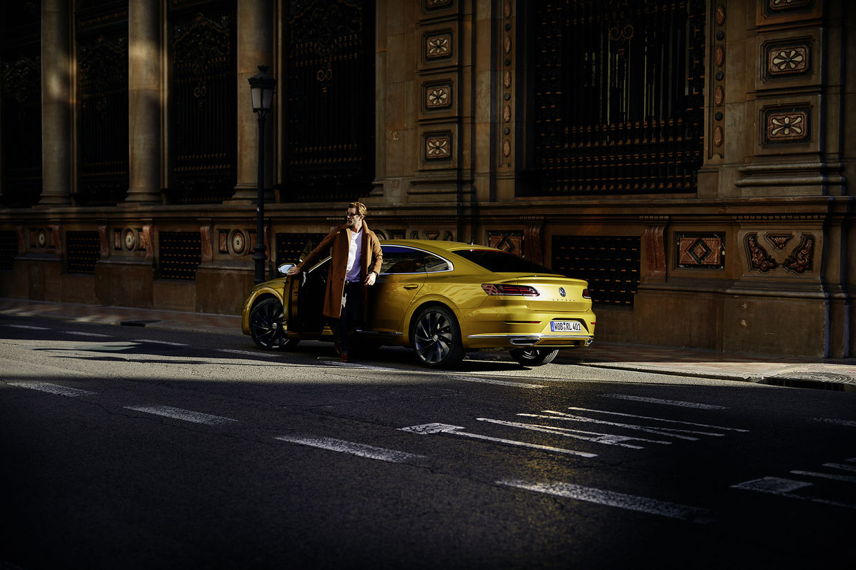 "SEVERIN WENDELER:  New Campaign for Volkswagen by HE&ME c/o Severin Wendeler ""Arteon"""