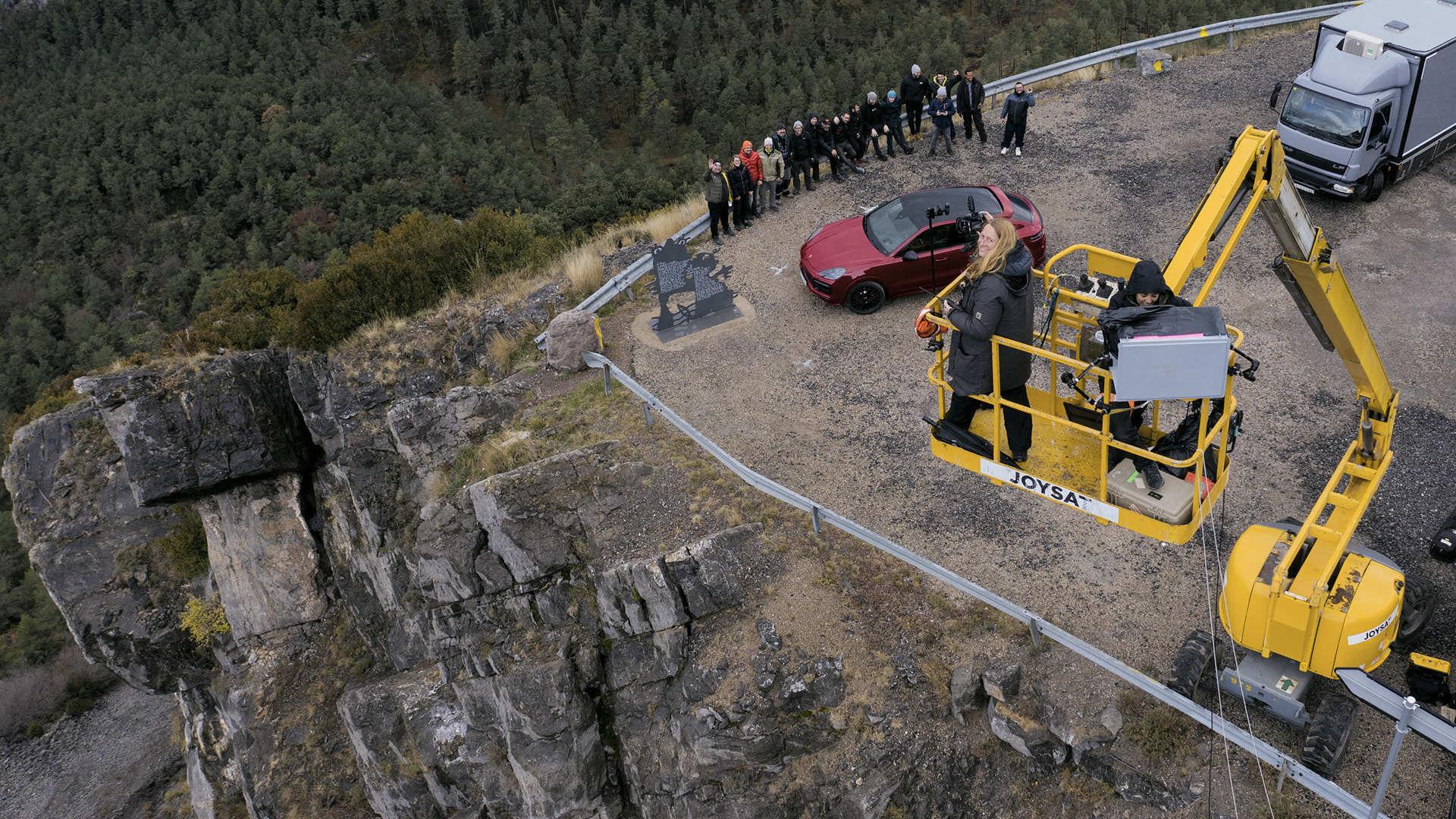 Porsche Cayenne GTS - making-of