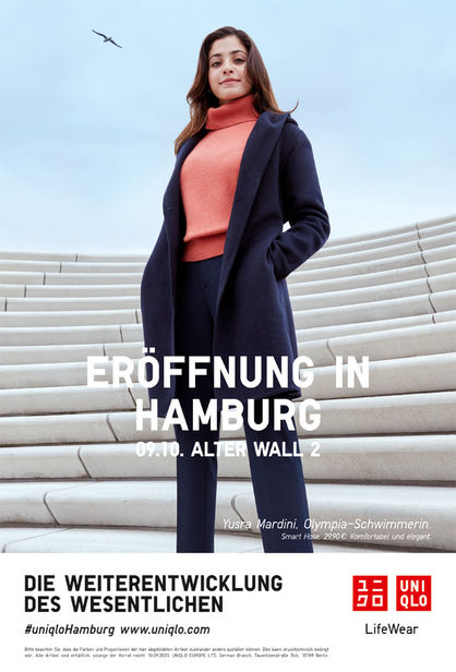 KLAUS STIEGEMEYER: ANNA BAUER for Uniqlo
