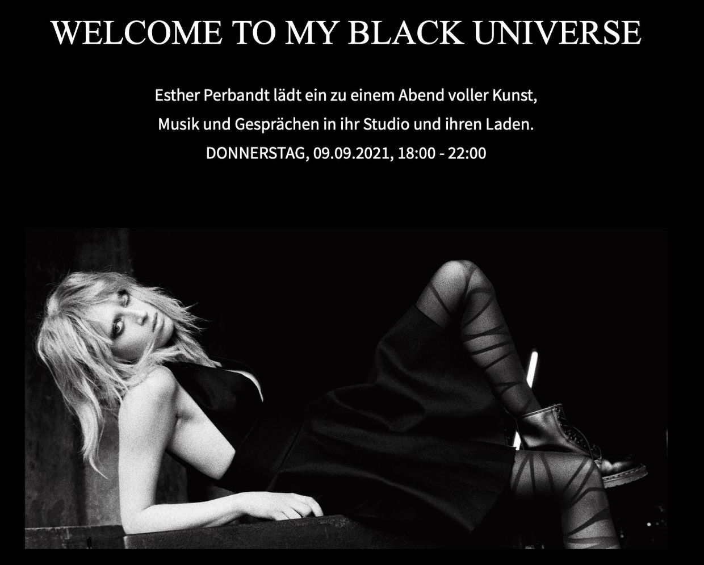 """Black Universe"" by Esther Perbandt"