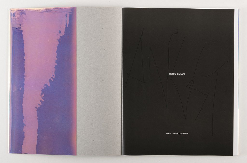 PETER HAUSER 'ANGST' published by Sturm & Drang