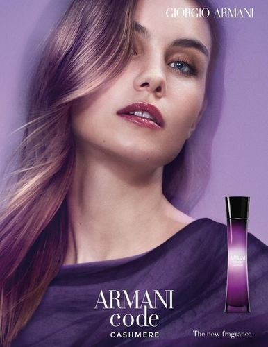 JULIJA STEP for ARMANI CODE CASHMERE FRAGRANCE CAMPAIGN
