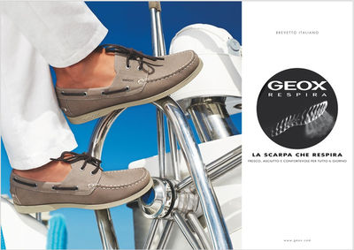 FIRST PRODUCTIONS : Carlo Miari Fulcis for GEOX