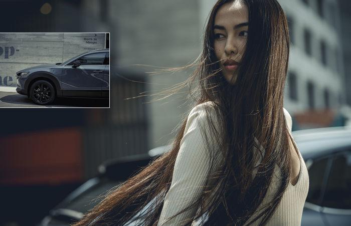"SEVERIN WENDELER: ""New MAZDA CX-30 Turbo series"" Photography by M&P Curtet c/o Severin Wendeler"