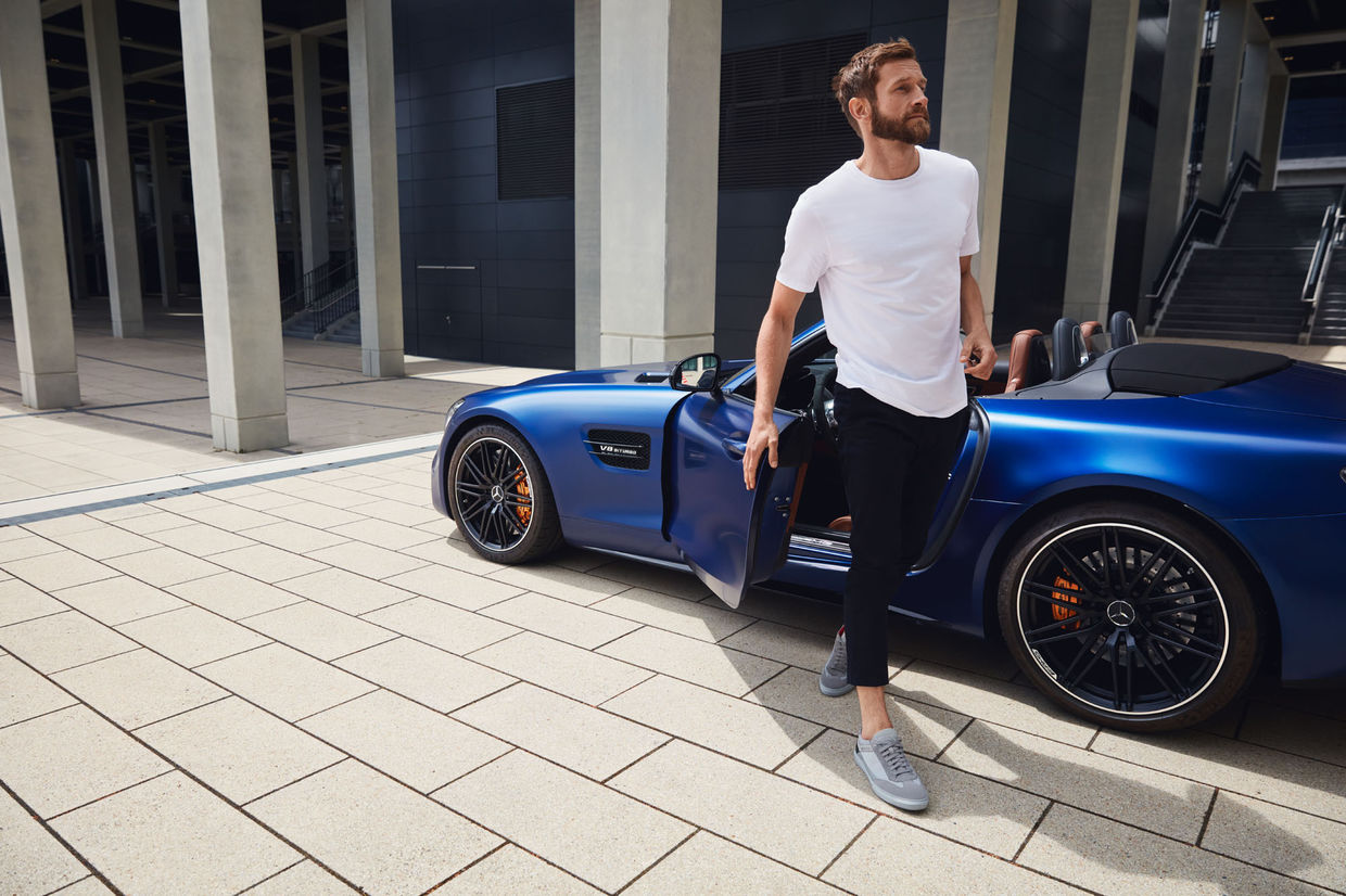 MARC AND DAVID for AMG x Santoni