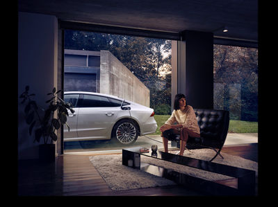 KLAUS STIEGEMEYER: Jan Friese and Claudia Scholtan for Audi