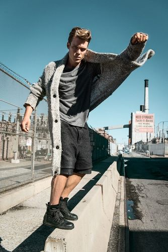 STEPHAN GLATHE - 'Modern James Dean' for CALEO MAGAZINE