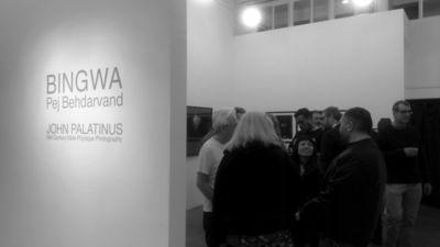 Pej Behdarvand : BINGWA - installation view