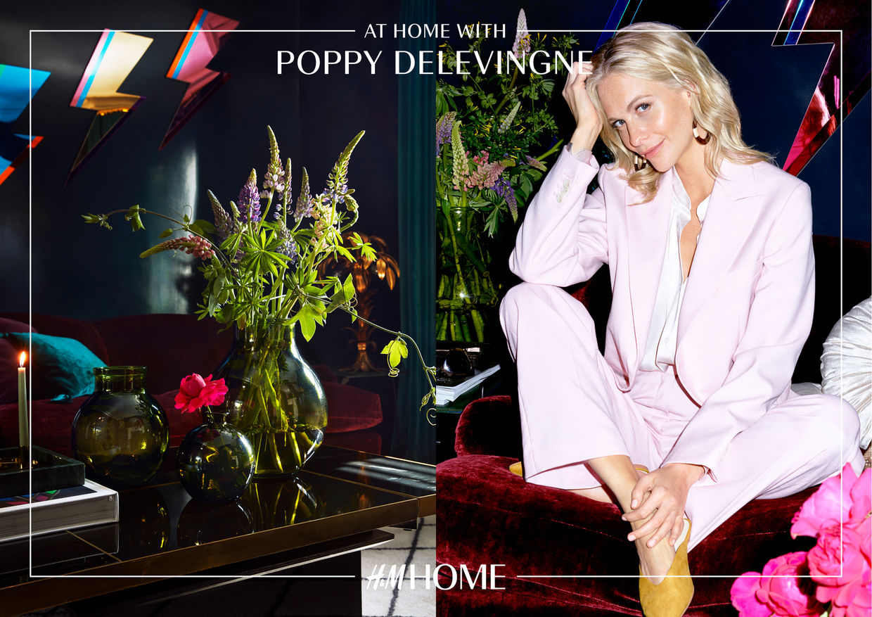 STRANGE CARGO FILM for H&M HOME with Poppy Delevingne