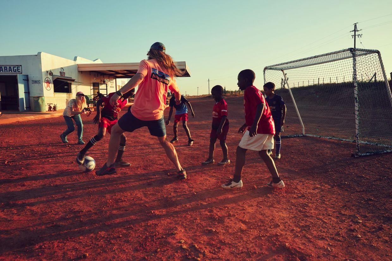 Kids vs Models Football