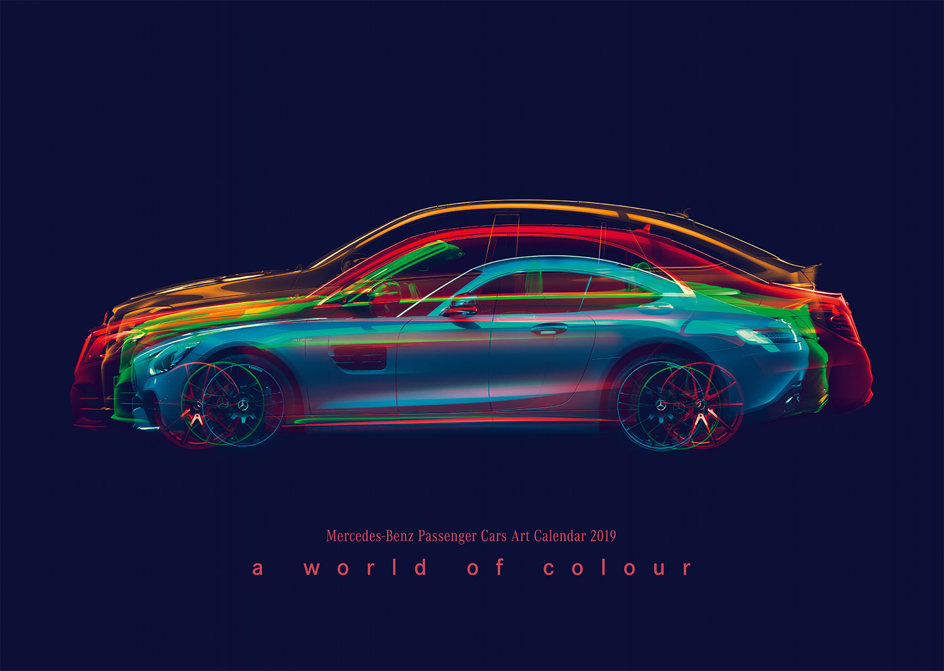 "Mercedes-Benz Cars Calendar ""A World of Color"""