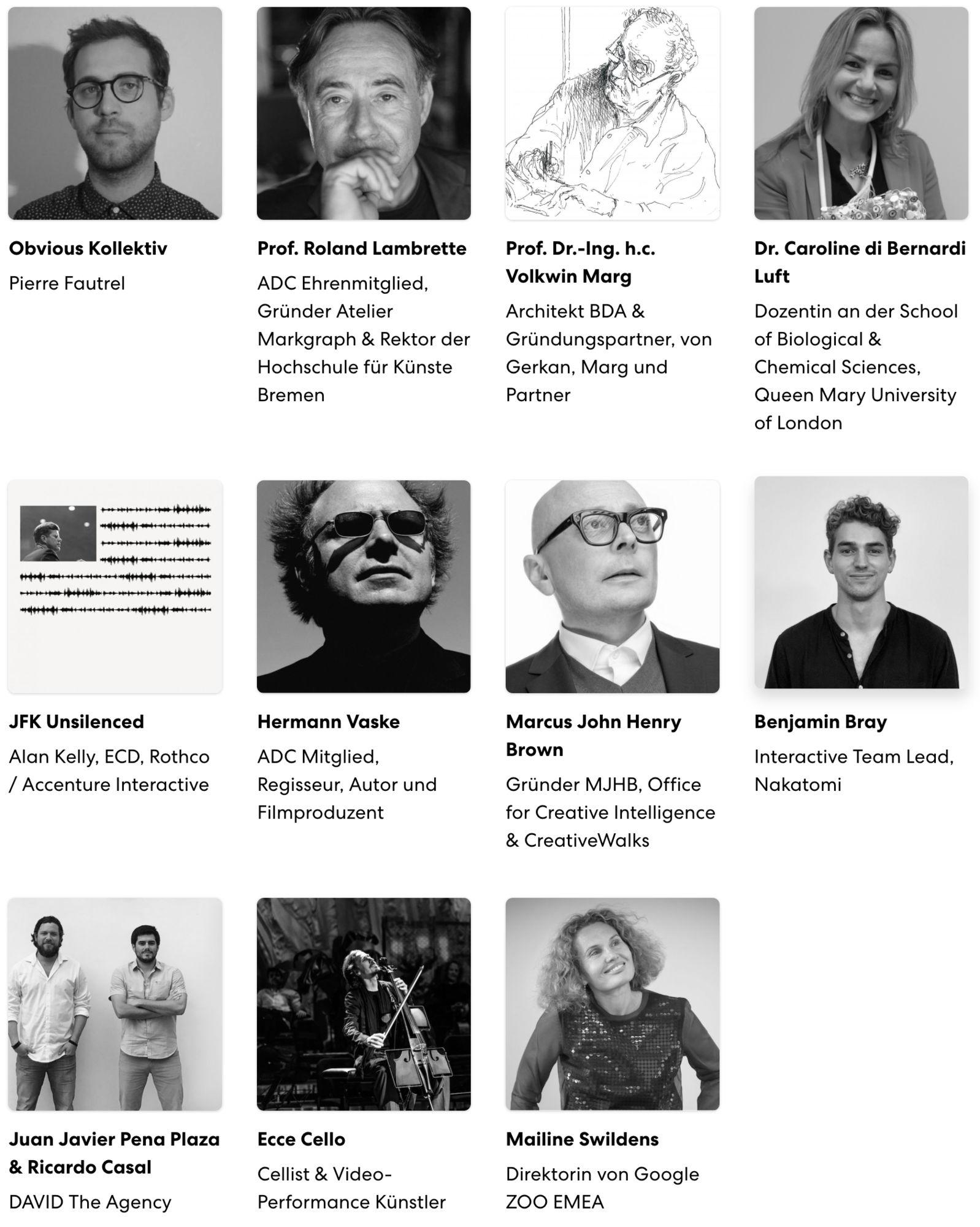 ADC Festival 2019 - Kongress Speaker