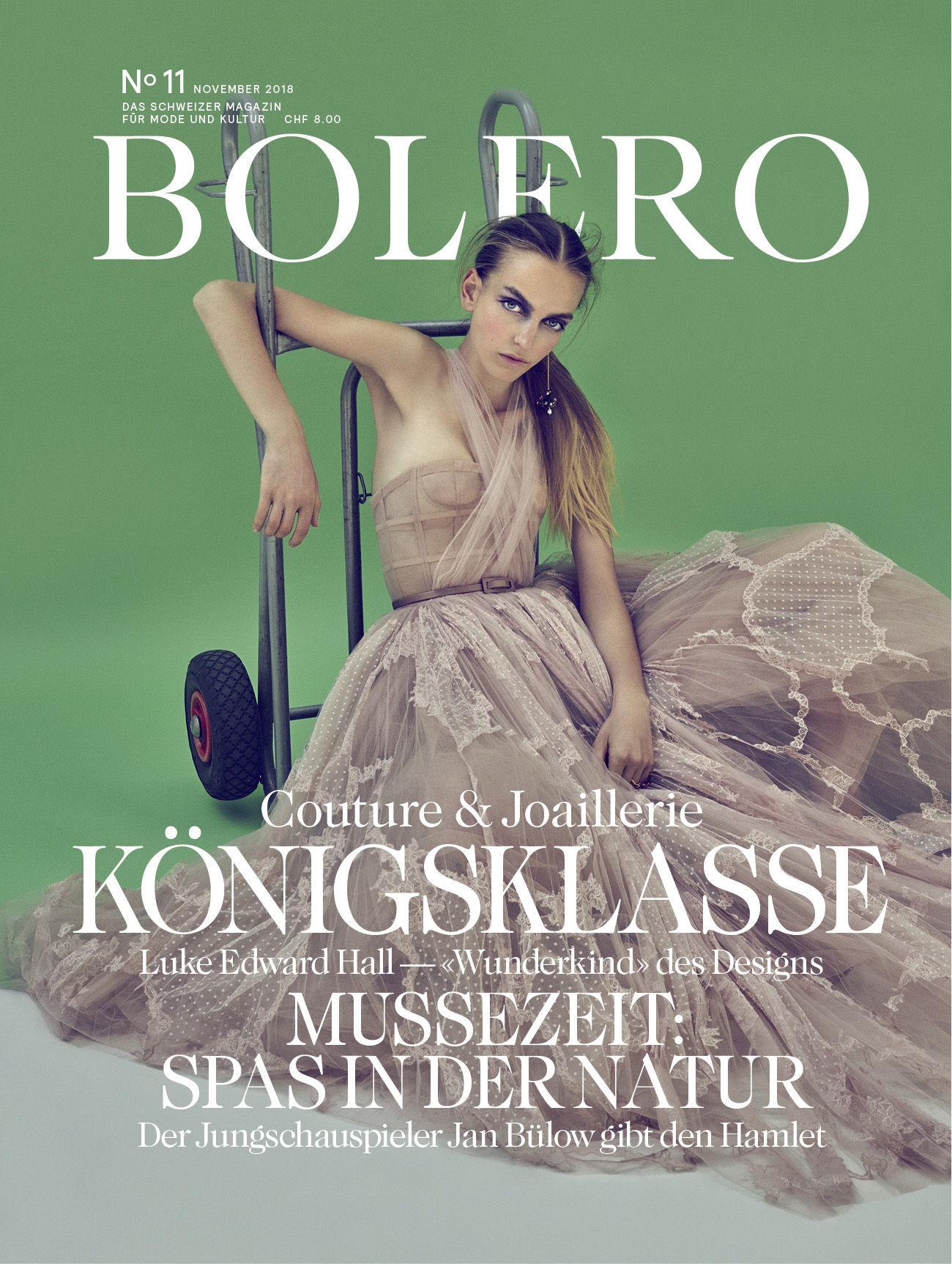 JPPS PRODUCTION SERVICES : Markus JANS for BOLERO Mag