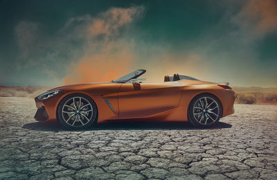 """SEVERIN WENDELER"": ""AGNIESZKA DOROSZWICZ"" for ""BMW"" shooting the ""CONCEPT  Z4"""