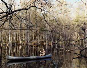 STEPHEN WIRTZ GALLERY : Justine Kurland, Fool of Moxie in Tin Canoe, 2003