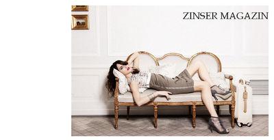 PETRA FISCHER for ZINSER MAGAZINE