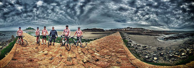 NIGEL HARNIMAN : 1000 mile bike ride for charity