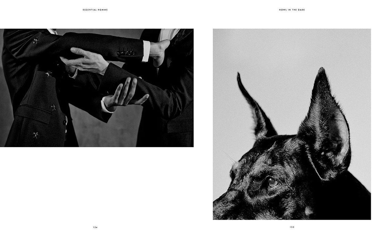Paul Maximilian Schlosser für Essential Homme Magazine