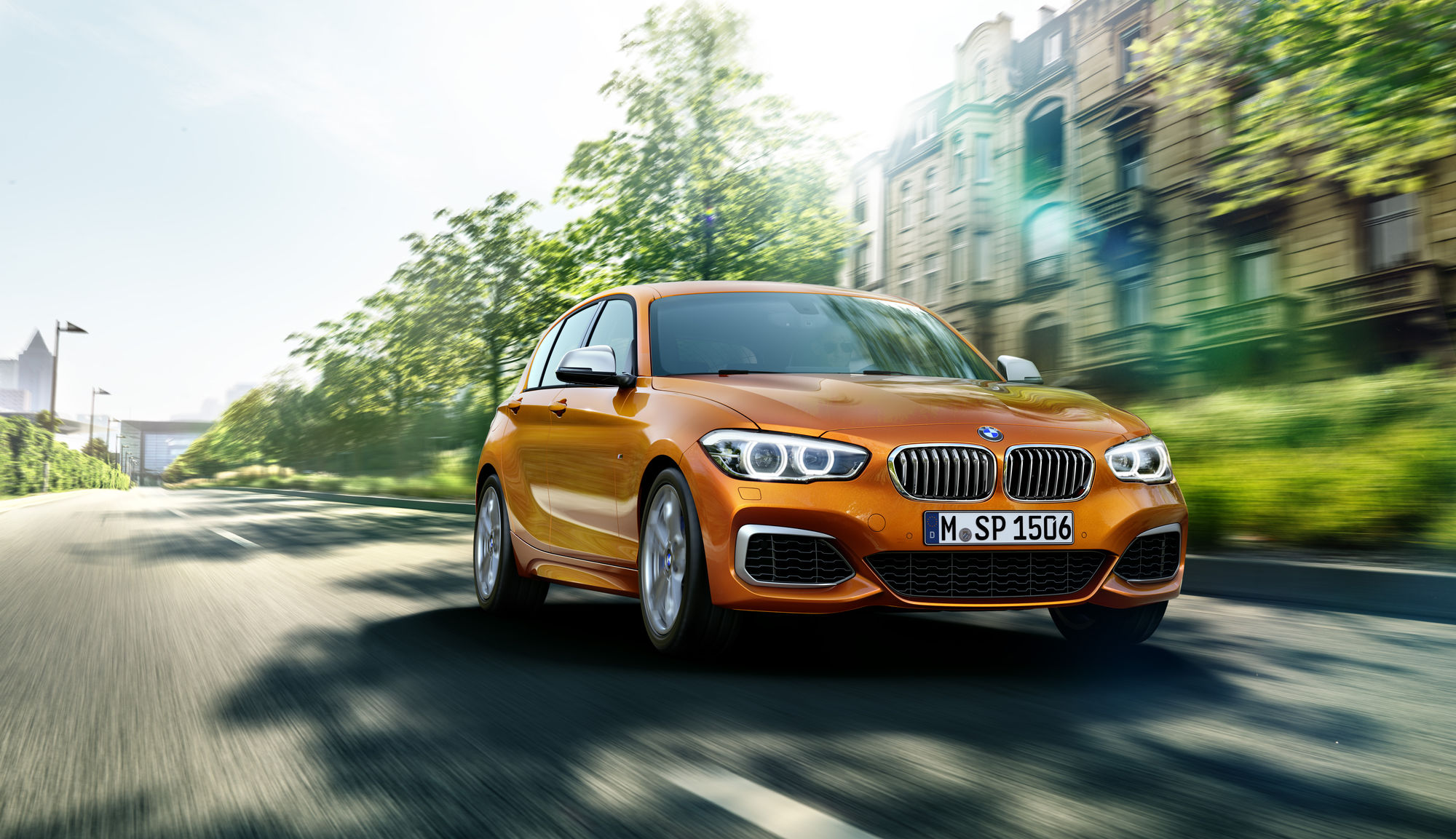 WE! SHOOT IT CGI BMW 1er