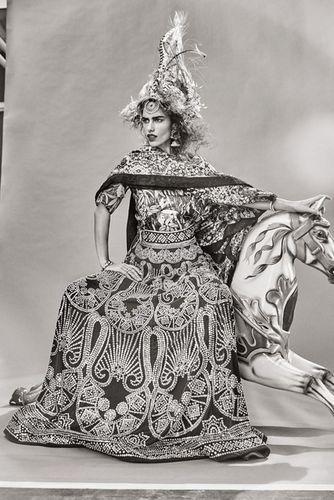 ESTHER HAASE for Harper's Bazaar Bride Inda