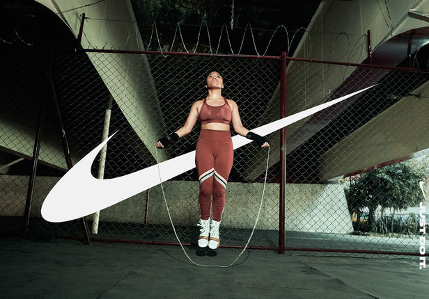 Christaan Felber c/o GIANT ARTISTS C photographed a powerful new campaign for Nike CDMX