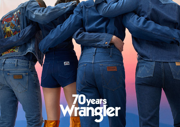 45805b47 70 Years WRANGLER' - the anniversary campaign for the iconic jeans ...
