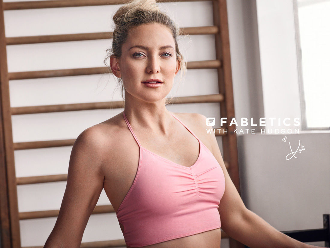 FABLETICS WITH KATE HUDSON - HUNTER & GATTI