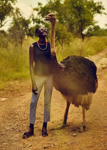 10-4 AFRICA for ANTHROPOLOGIE - TO RELAX