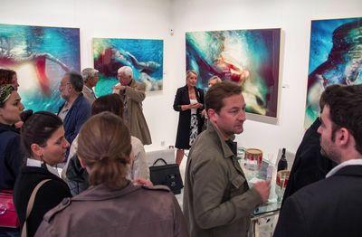 SUSANNE STEMMER : Vernissage of the exhibition Under Water