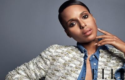 ELLE MAGAZINE - Kerry Washington