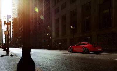 PATRICK CURTET - Porsche 911 GT3 - CGI
