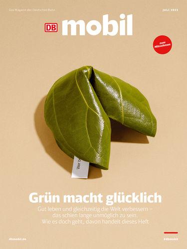 SARAH ILLENBERGER  c/o 2AGENTEN for DB MOBIL, MAGAZINE COVER