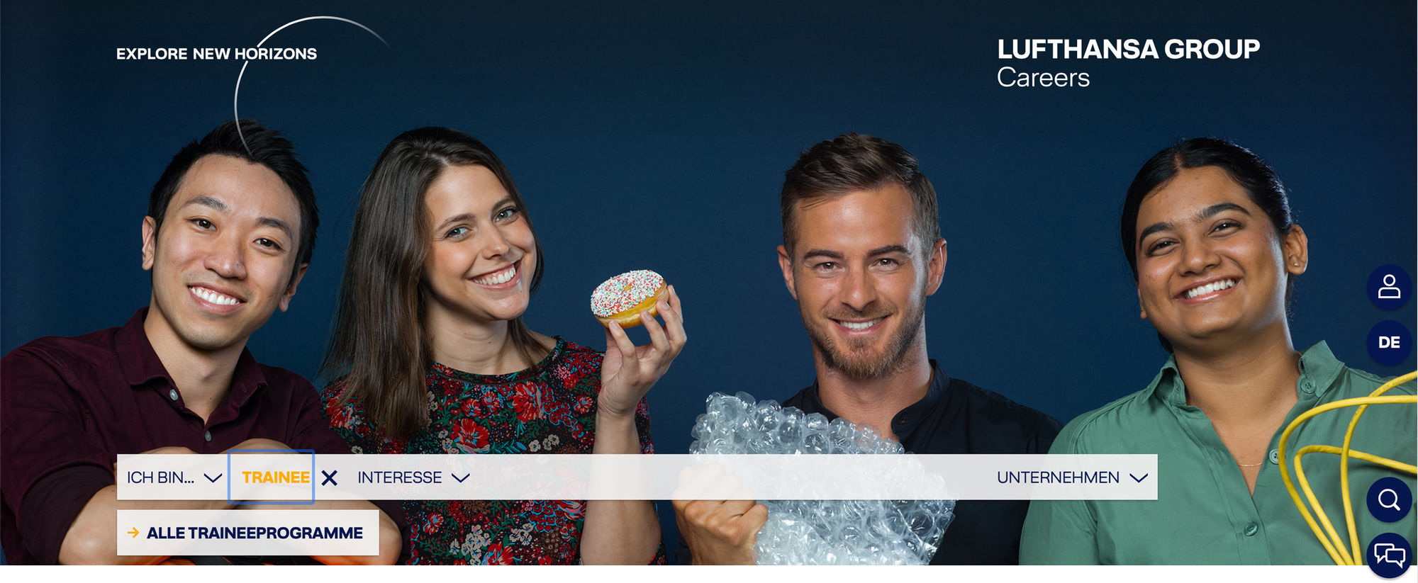 Claus M. Morgenstern shoots campaign for Lufthansa AG by Closer London