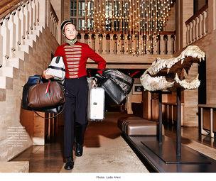 BIGOUDI: Karina Berg für Lufthansa Magazin