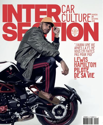 LEWIS HAMILTON FOR INTERSECTION FR BY ROBERT WUNSCH