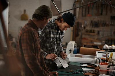 UPFRONT PHOTO & FILM GMBH: Christian Doppelgatz for Artisan Leather