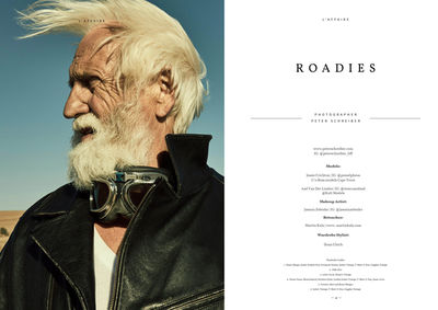 Roadies by Schreiber for L´Affaire Magazine