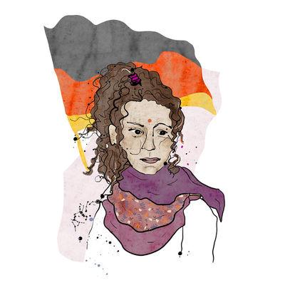Flüchtlingsmädchen für Literatur-Spiegel