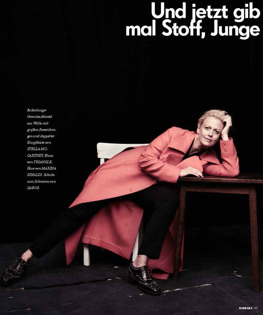 Styling by Mads for BARBARA Magazine shot by Kristian Schuller
