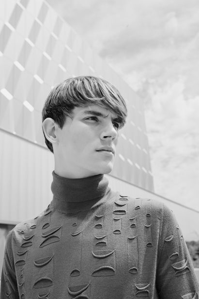 VIVA MODELS: Callum Ward for Leica S Magazine
