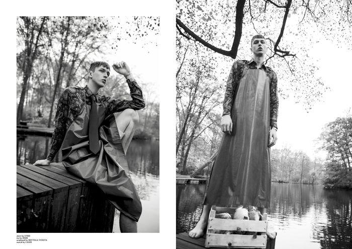 AVA PIVOT with Dimitrij Vysokolyan for Client Magazine #17