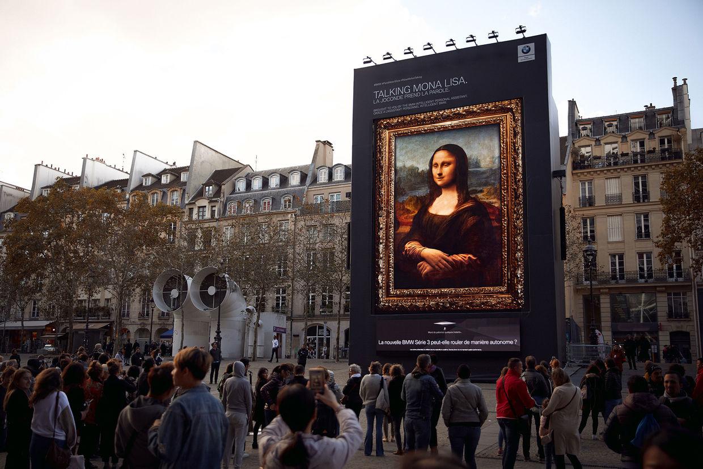 Mona Lisa Project, Felix Wittich für BMW im Auftrag von Jung von Matt