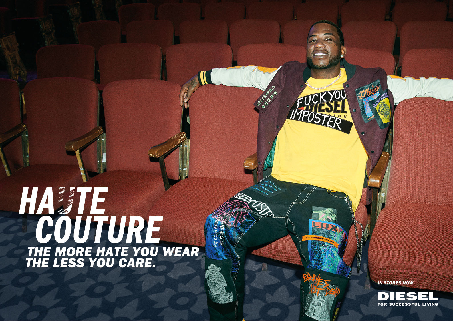 STINK: Photographer Vitali Gelwich Shoots Gucci Mane for Diesel Hate Couture