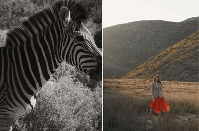 Laura Palm c/o MARLENE OHLSSON PHOTOGRAPHERS shot latest editorial »The Travel Issue« for UNGER Magazine in Afrika.