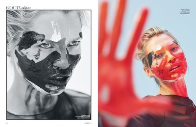 Hana Jirickova is a Wild Beauty in Vogue Ukraine by HUNTER & GATTI
