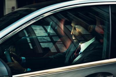 Mercedes-Benz C-Class Driver Shooting