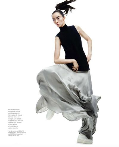 BALLSAAL : Tyron Machhausen (Make-up) for Harper's Bazaar Spain October 2015